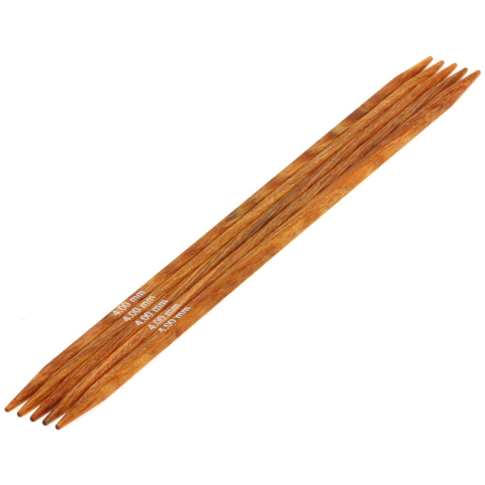 Lana Grossa Sock needles design-wood quattro S. 4,0/15cm