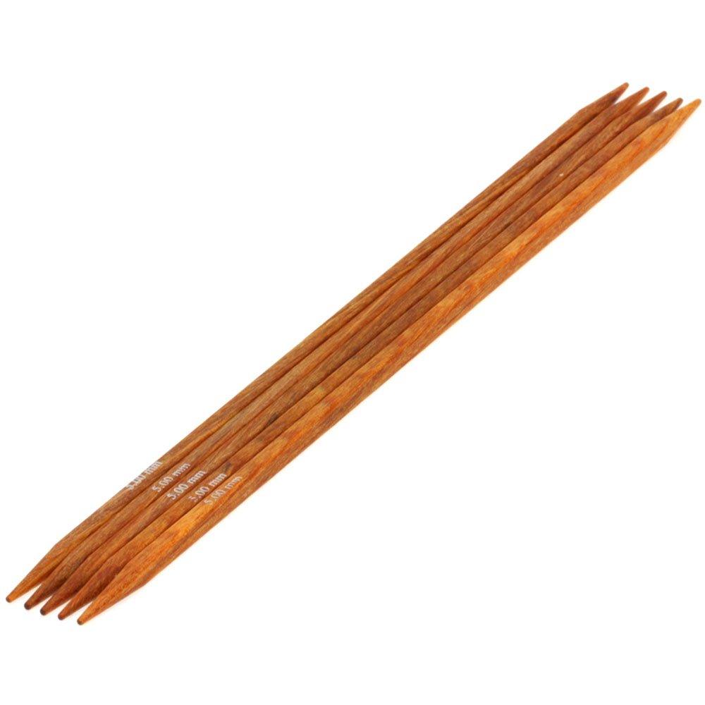 Lana Grossa Sock needles design-wood quattro S. 5,0/20cm