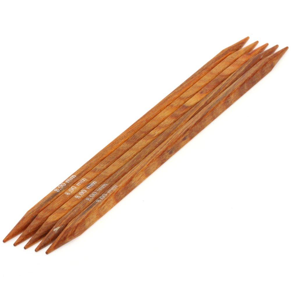 Lana Grossa Sock needles design-wood quattro S. 8,0/20cm