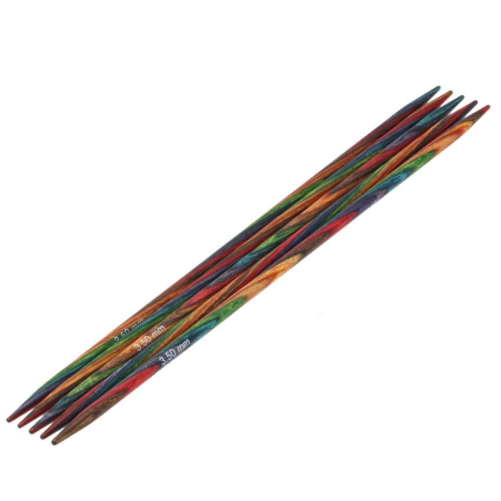 Lana Grossa Sock needles design-wood Color size 3,5/15cm