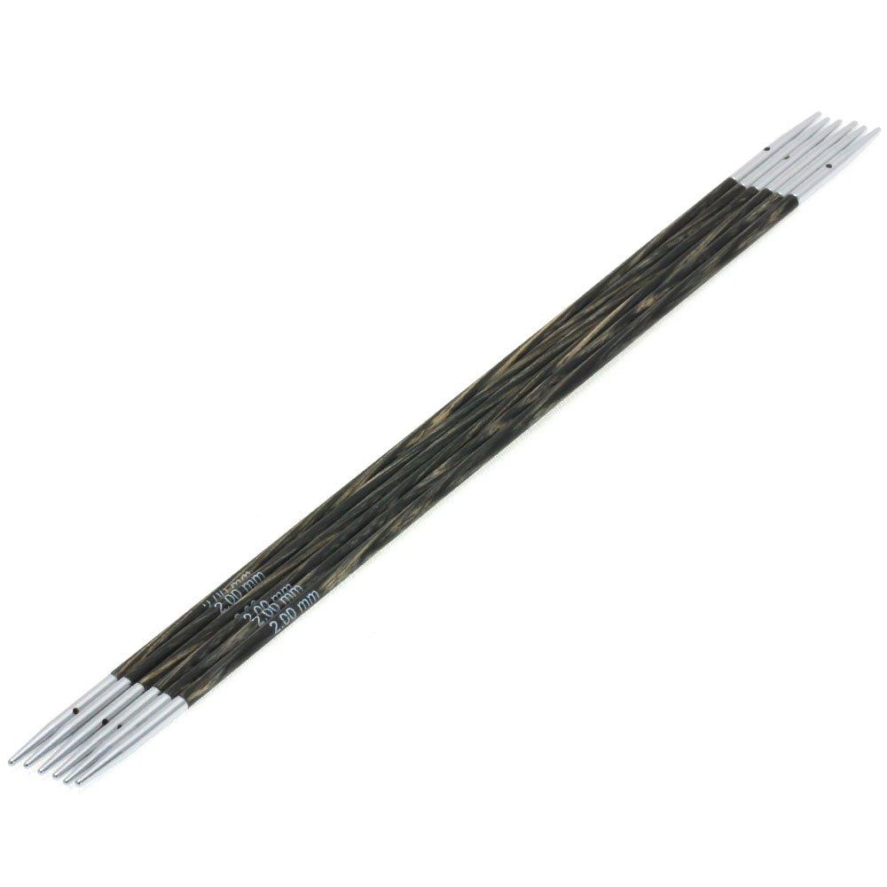 Lana Grossa Sock needles design-wood lala BERLIN size 2,0/15cm