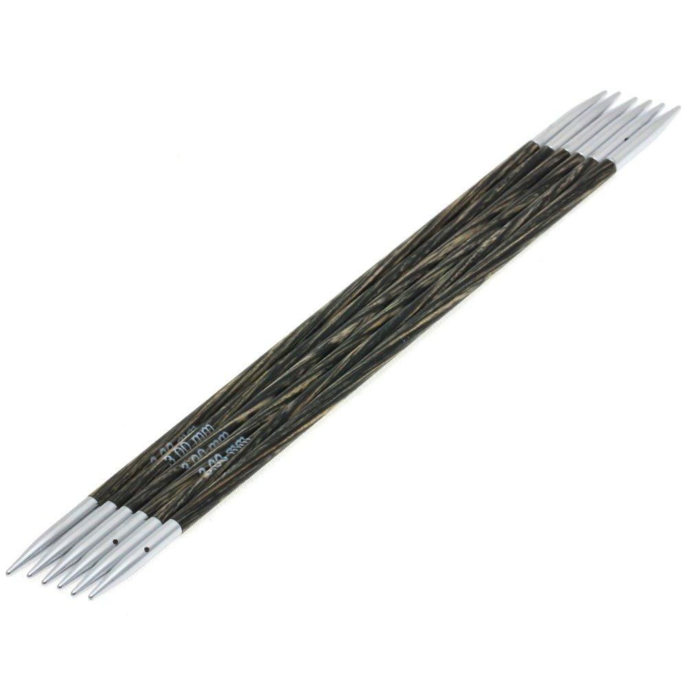 Lana Grossa Sock needles design-wood lala BERLIN size 3,0/15cm