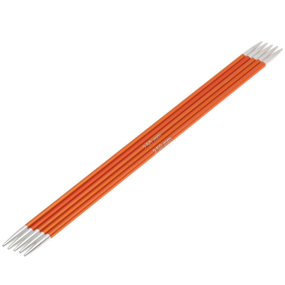 Lana Grossa Sock needles aluminum Rainbow size 2,5/15cm