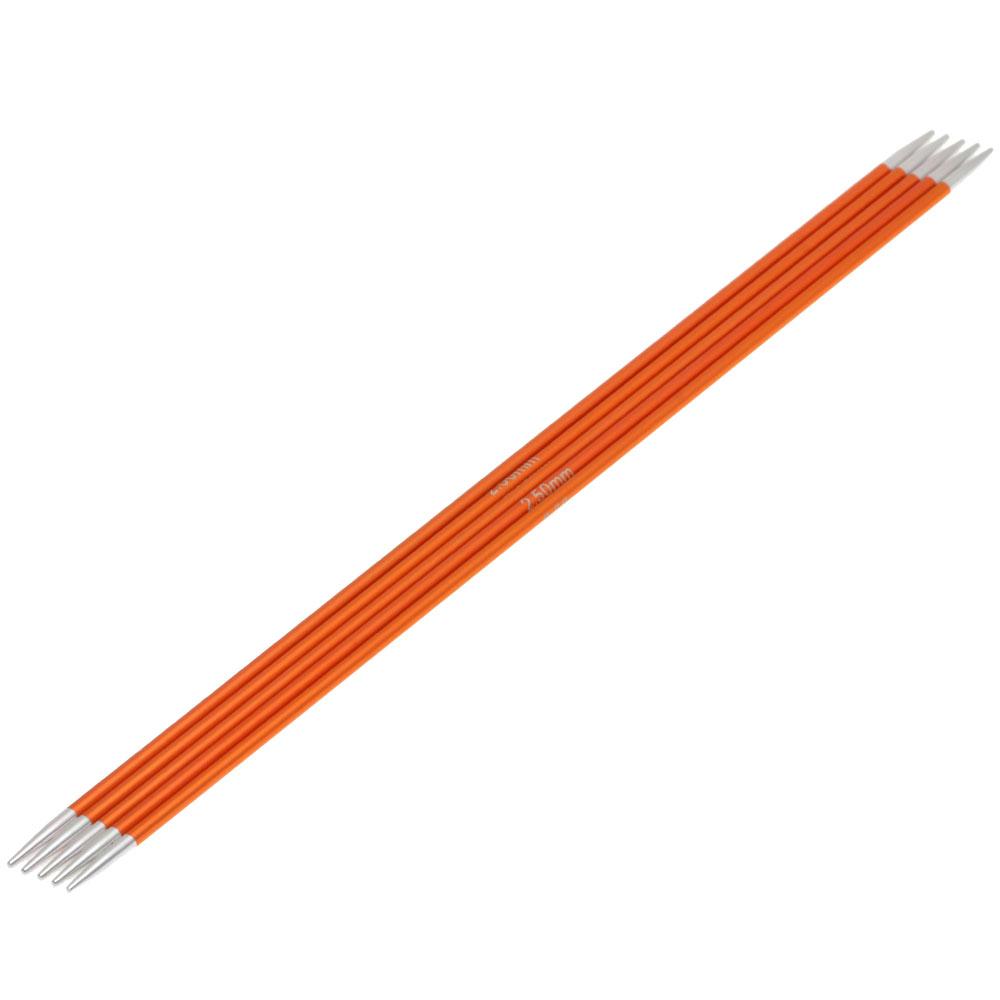 Lana Grossa Needles// Sock Knitting Needles Aluminium 20cm//2,0mm