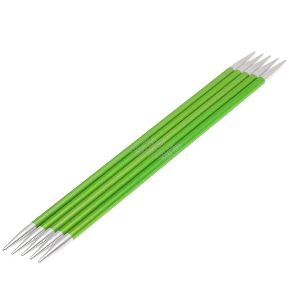 Lana Grossa Sock needles aluminum Rainbow size 5,0/20cm
