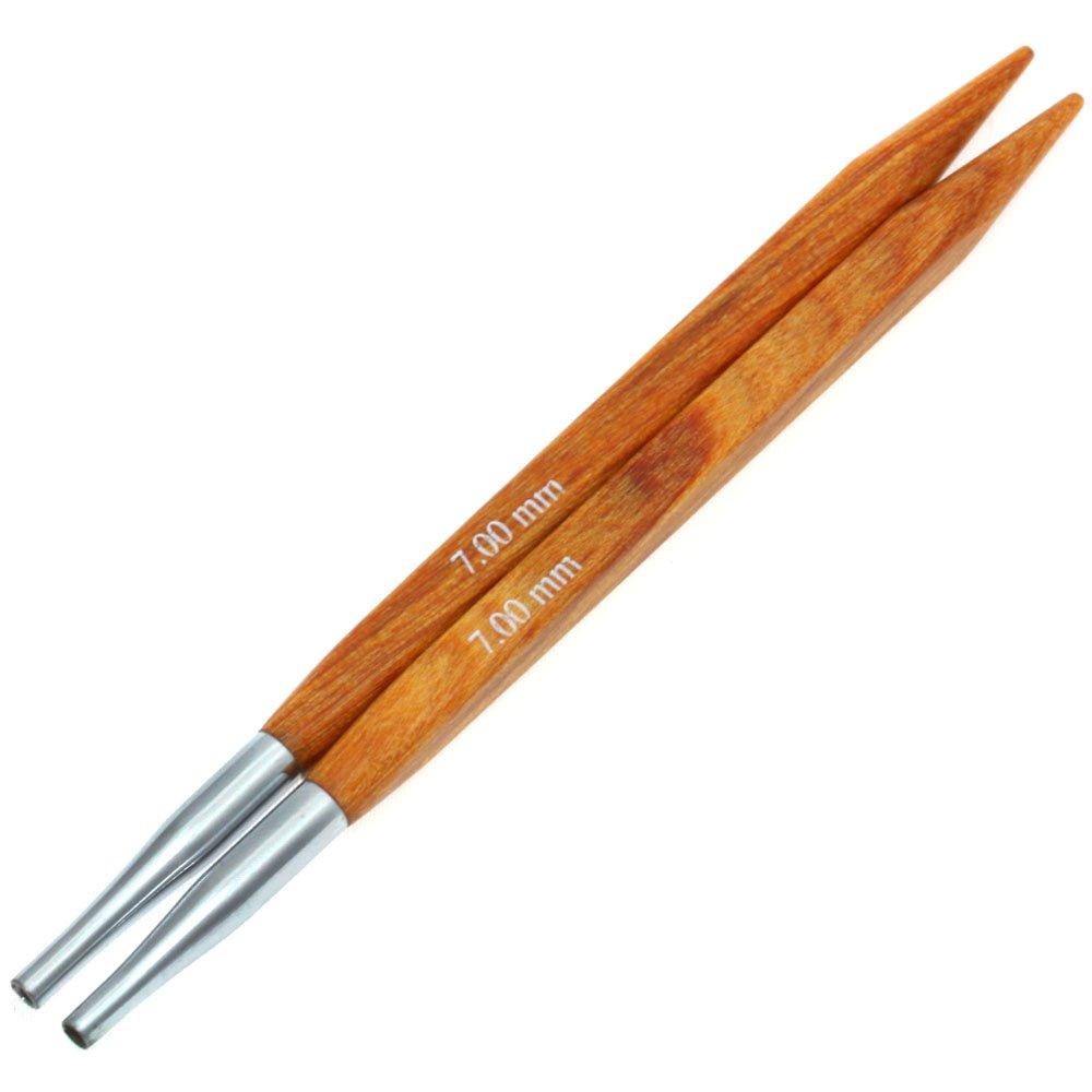 Lana Grossa Needle tips Vario design-wood quattro S. 7,0