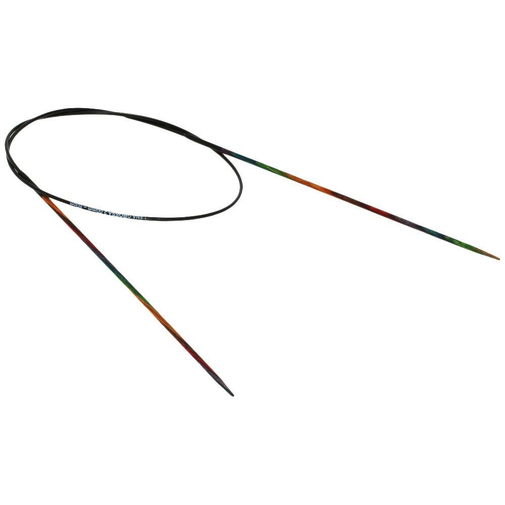Lana Grossa Circular knitting needle design-wood color size 2,0/60cm