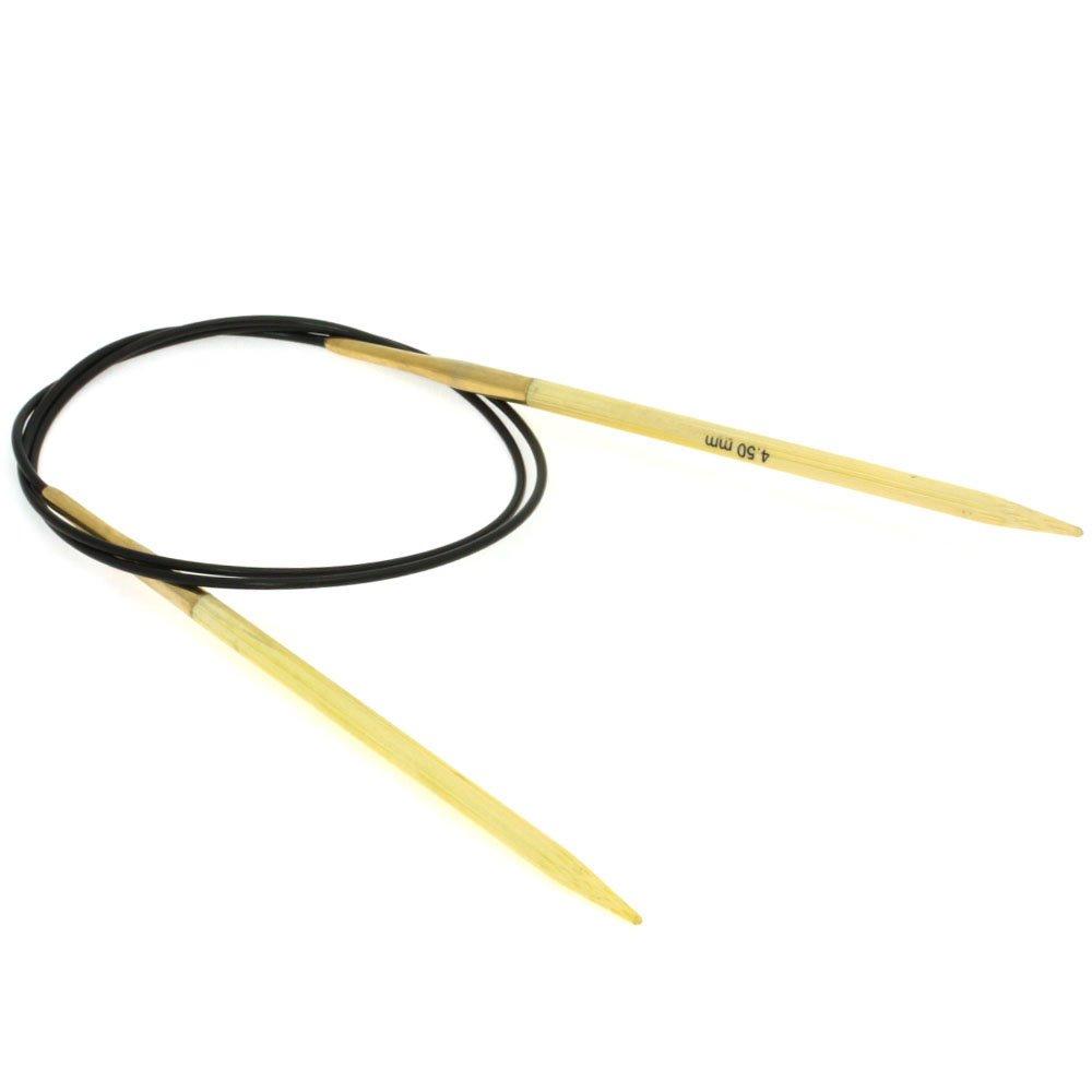 Lana Grossa Circular knitting needle bamboo size 4,5/ 80cm