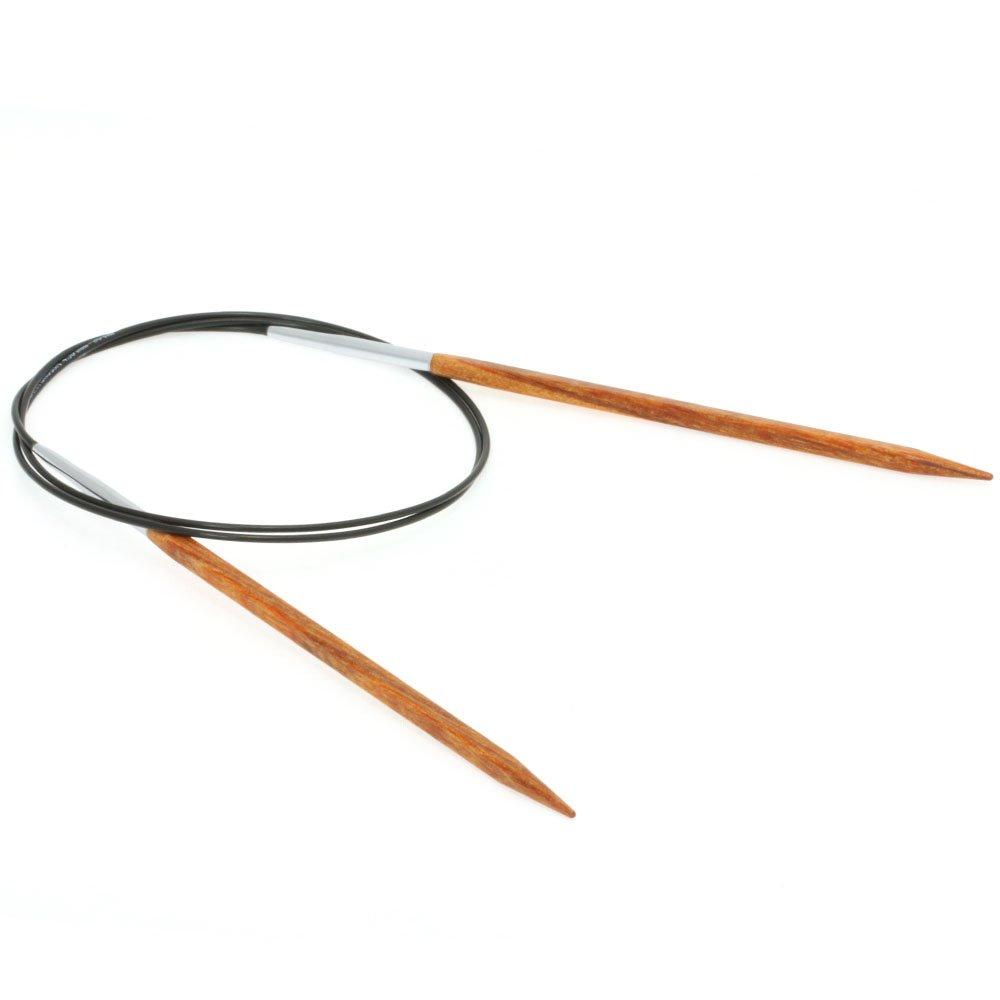 Lana Grossa Circular knitting needle design-wood quattro S. 4,5/80cm