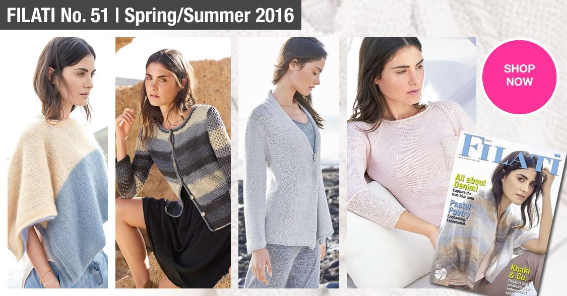 Lana Grossa FILATI No. 51 (Spring/Summer 2016)
