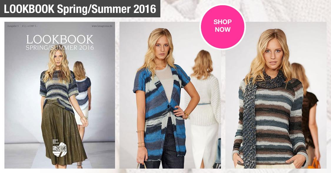 Lana Grossa LOOKBOOK No. 3 - Spring/Summer 2016