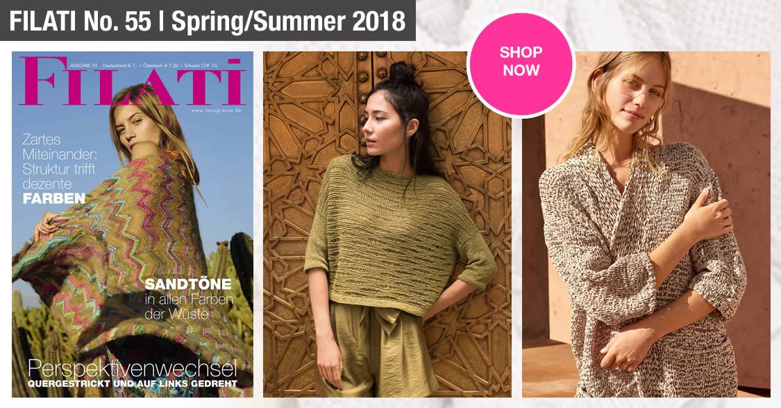 Lana Grossa FILATI No. 55 (spring/summer 2018)