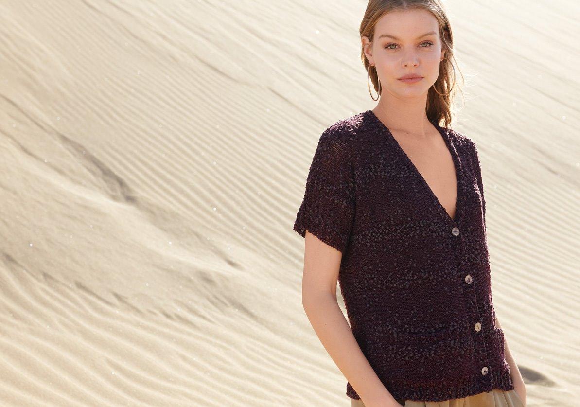 Lana Grossa Webshop Filati Wool Yarn Knitting Patterns Model